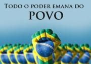 O poder emana do povo.